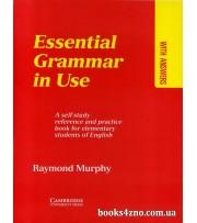 Essential Grammar in Use Красный Грамматика английского для начинающих (elementary) авт: Раймонд Мёрфи вид: Cambridge University Press
